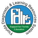 florida diagnostic learning resources services logo